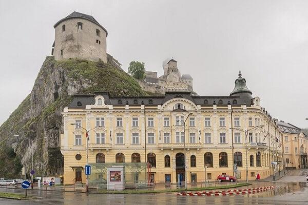 Hotel Elizabeth Trencin, Slovakia