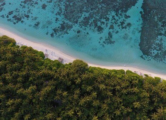 Bikini Beach Area at Plumeria Maldives