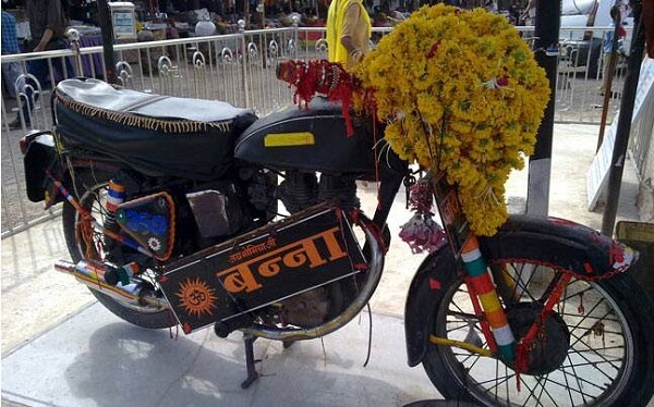 Bullet Baba Temple Rajasthan