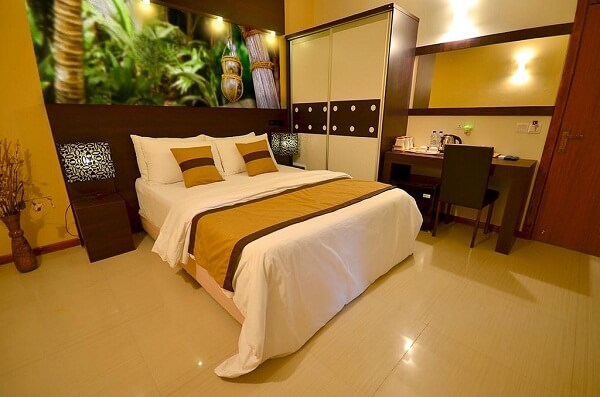 Guest Room of Island Vista Inn Ukulhas