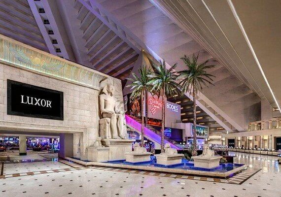 Luxor Casino Las Vegas New Years Eve 2020: Party, Fireworks View, and Live Music