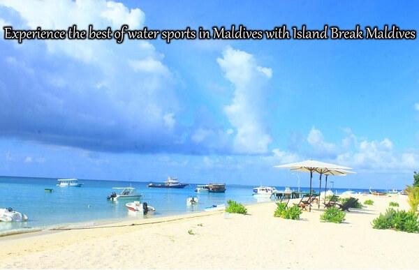 Sandy Beach Access at Island Break Fulidhoo