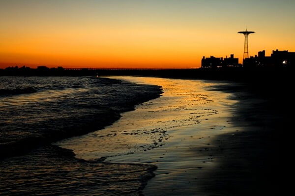 Sunset @ Coney Island Beach