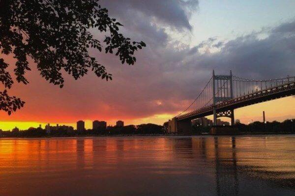 Sunset @ Astoria Park, Queens