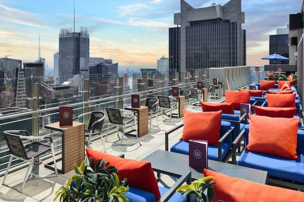 Rooftop Lounge at Hyatt Centric Times Square